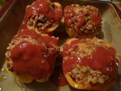 Portuguese Style Stuffed Peppers                                                                                                                                                                                 More