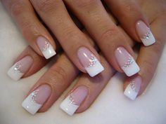Wow Nails, Nails Now, French Manicure Nails, Pretty Nails, French Nails, Fall Nail Art Designs, Long Nail Designs, Colorful Nail Designs, French Nail Designs