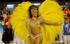 11/2/2013 - A atriz Juliana Alves, rainha de bateria da Unidos da Tijuca, participou do BBB 3