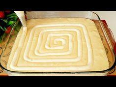 """Super jemný tvarohový koláč """"Labyrint"""": Krém je ukrytý přímo v těstě, tato piškot má největší úspěch! - Strana 2 z 2 - Příroda je lék Cheesecake Cake, Kefir, Cheesecakes, Bamboo Cutting Board, Food And Drink, Baking, Sweet, Health, Art Ideas"""