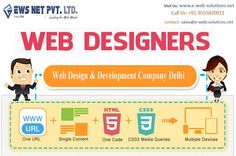 EWS Net Pvt. Ltd offers wide range of creative services related to web like professional web designing, website development,E-Commerce Solution etc.Call now 9555020011 Email sales@e-web-solutions.net. Click here for Enquiry form  http://goo.gl/V1Pxqw Join us - https://www.facebook.com/EWebSolutions01