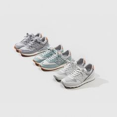 @newbalance Women's 'Grey Collection' - Featuring the 996 Textile (£110), 620 Textile (£100) and the 530 Textile (£120) - They're each available online, in size? for women and in selected size? stores now - #ladiesthatlace