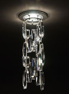 Modern Architectural Lighting Design by Swarovski Architectural Lighting Design, Modern Lighting Design, Luxury Lighting, Cool Lighting, Lighting Ideas, Architectural Sculpture, Outdoor Lighting, Chandeliers, Chandelier Lamp