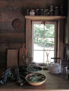 shelf above the window