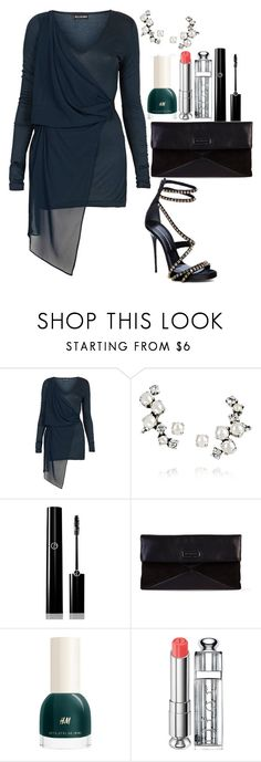 """""""happy new year! #6"""" by mihai-theodora ❤ liked on Polyvore featuring Topshop, Ryan Storer, Giorgio Armani, Marc by Marc Jacobs, H&M and Christian Dior"""