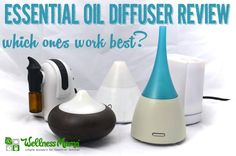 A comparison of the most popular essential oil diffuser types: ultrasonic diffusers, nebulizing diffusers, heat and evaporation diffusers and others.