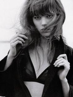 Freja Beha Erichsen photographed by Bruce Weber for Vogue Italia November 2005