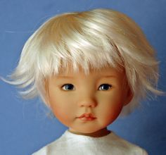 Dianna Effner 13 in Little Darling vinyl hand painted doll by Kuwahi