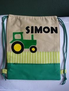 Tractor for the little nephew.Ook goed voor op een kussen