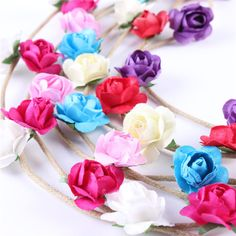 Delicate Hot! 2016 headband hair accessories Flower Girls Photo Prop Baby Tieback Headband Baby Flower Crown Flower Hairband #>=#>=#>=#>=#> Click on the pin to check out discount price, color, size, shipping, etc. Save and like it!