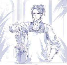 Kerzan, gardening