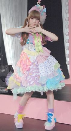 Kyary is such fashion goals. I want this dress