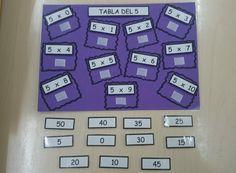 Juego-tablero para practicar las tablas de multiplicar - Aprendiendo matemáticas Interactive Notebooks, Teaching Math, Learn English, Preschool, Education, Games, Learning, Multiplication Tables, Rey