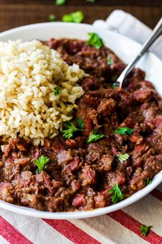 Cajun-Style Vegan Red Beans and Rice – Emilie Eats