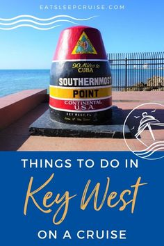 If you are considering a cruise that stops in Key West, Florida, check out our list of the Top Things to Do in Key West on a Cruise. #cruise #thingstodo #keywest #florida #eatsleepcruise Packing For A Cruise, Cruise Travel, Florida Travel, Cruise Vacation, Usa Travel, Travel Tips, Best Cruise, Cruise Port, Cruise Tips