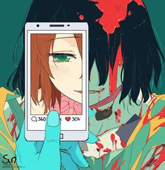 Filter Repost with credits Mode Art And Illustration, Dark Art Illustrations, Dark Anime, Anime Kunst, Anime Art, Dessin Old School, Sun Projects, Anime Triste, Vent Art
