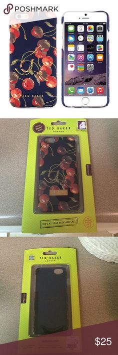 Ted Baker London iPhone 6/6s Case NWT never used Ted Baker London iPhone case for 6/6S. No trades, sorry! I only sell these items on Poshmark.  Feel free to ask me any questions   I love to make custom bundles! Just like multiple items and leave a comment ✌️❤️ffers are accepted. Ted Baker Accessories Phone Cases