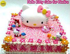 HONEY CAKES: Hello Kitty Birthday Cake For Nadira