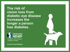 November is National Diabetes Month. Share this pin to help us raise awareness about diabetic eye disease. Diabetic Eye Disease, Eye Facts, Diabetic Retinopathy, Diabetic Tips, Type 1 Diabetes, Diabetes Diet, National Institutes Of Health, Diabetes Management, People