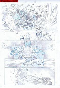 Kwan Chang :: For Sale Artwork :: The Amazing Spider-Man by artist Olivier Coipel