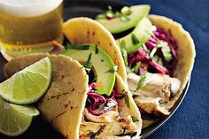 Tequila-Lime Mahimahi Tacos