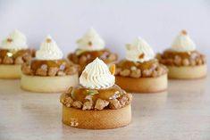 Tartas Tatin de Manzana (sin horno) con crema de almendras - Bavette