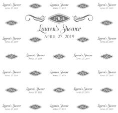 Wedding Step and Repeat Red Carpet Backdrop, Event Banner, Repeat, Backdrops, How To Memorize Things, Templates, Prints, Wedding, Valentines Day Weddings