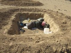 WATCH: Fleeing IS, some Mosul refugees live in holes in Iraqi desert | The Times of Israel