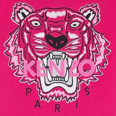 Kenzo's tiger with a pink touch!