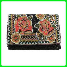 MARY FRANCES Belladonna Beaded Clutch - Clutches (*Amazon Partner-Link)