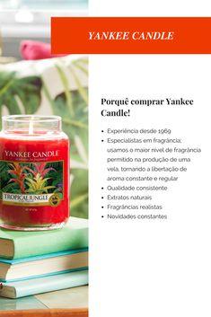 Porquê comprar Yankee Candle?