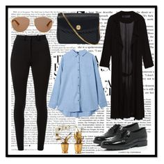 """"""""""" by alinnas ❤ liked on Polyvore featuring River Island, Zara, Victoria Beckham, CÉLINE, Tommy Mitchell, Christian Dior, StreetStyle, outfit and outfits"""