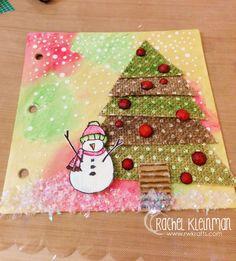 December Art Journal with Rachel Kleinman - Faber-Castell Design Memory Craft