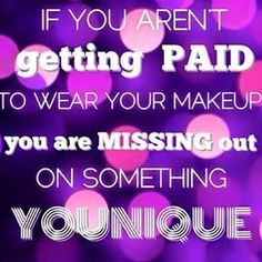 Join me and be your own boss with Younique