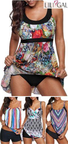 trendy plus size swimsuits, cute plus size swimwear, bathing suits for plus size. Trendy Plus Size Swimsuits, Plus Size Swimwear, Women's Swimwear, Vintage Swimsuits, Cute Swimsuits, Bikini Sets, Sexy Beach Wear, Swim Dress, Plus Size Fashion