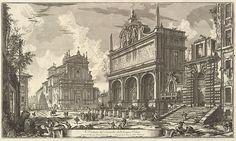 Giovanni Battista Piranesi   View of the Fountainhead of the Acqua Felice...., from Vedute di Roma (Roman Views)   The Met