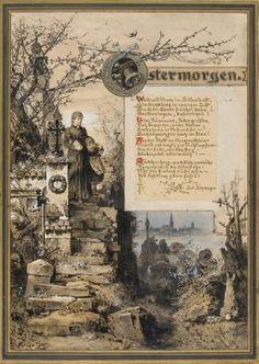 Diverse Zeichnungen 4 works von Hermann Vogel