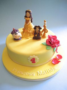 Beauty (Belle) and the Beast Cake | Flickr - Photo Sharing!