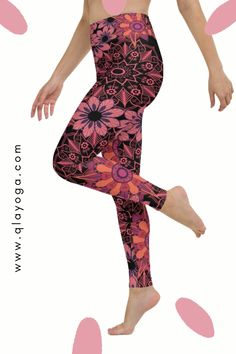 High Waisted Yoga Leggings with Pocket High Waisted Yoga Leggings, Yoga Pants With Pockets, Waist Workout, Body Sculpting, Yoga Session, Festival Wear, Printed Leggings, Workout Leggings, Jogging