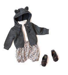 2012 Autumn & Winter coordinate | baby & little kid's style1 - LILI et NENE Official