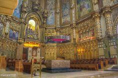 Basílica de Montserrat. Barcelona.