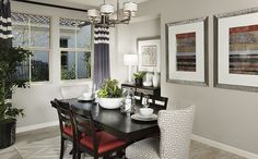 The dining room is the perfect space for family meals - The Camellia plan at Victory at Verrado in Buckeye, AZ