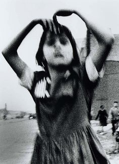 William Klein - Girl Dancing in Brooklyn, 1955