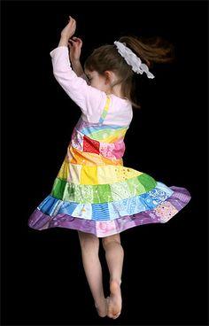 1-yard girl's dress pattern