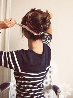 Repinned: Try these cute summer up-do's that will keep you cool and stylish!