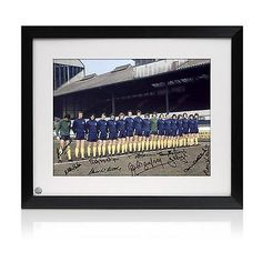 Framed #chelsea #1970s legends signed autographed football #memorabilia,  View more on the LINK: 	http://www.zeppy.io/product/gb/2/331903453014/