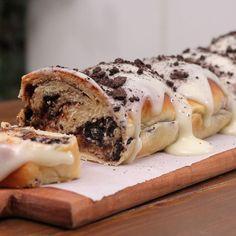 Crackle Cookies, Cookies And Cream, Spanakopita, Greek Recipes, Cheesesteak, Feta, Camembert Cheese, Sushi, Cooking Recipes