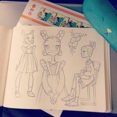 Healthy snacks for preschoolers to bring to school ideas 2017 fall Cartoon Drawing Tutorial, Cartoon Drawings, Art Drawings, Character Concept, Character Art, Concept Art, Anna Cattish, Drawn Art, Ship Drawing