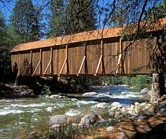 America's Most Beautiful Covered Bridges: Wawona in Yosemite National Park