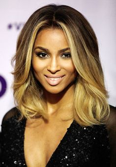 She's gorgeous and I love the ombre hair